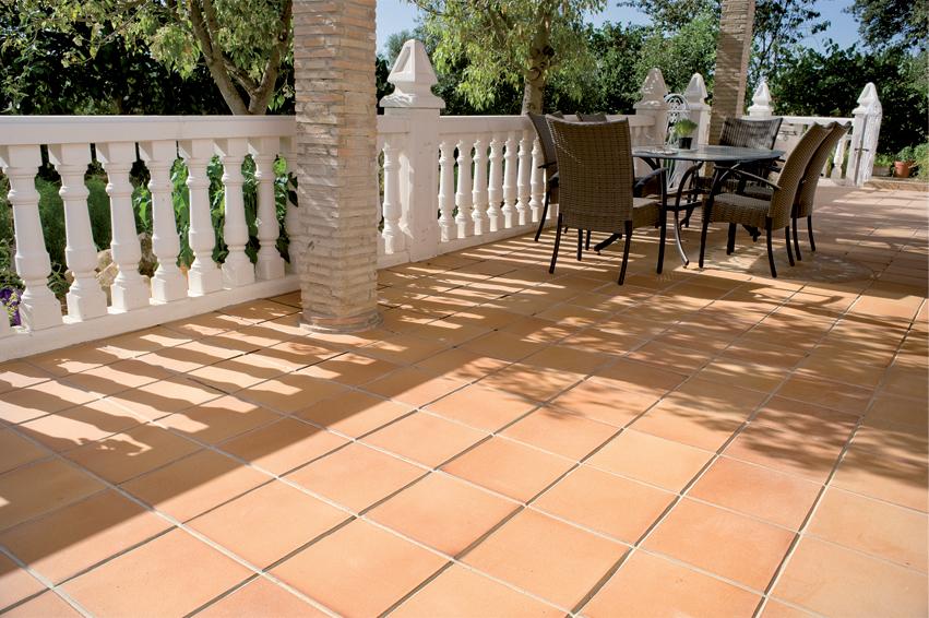 Pavimentos base en gres natural de cehimosa - Pintura para suelos de gres ...